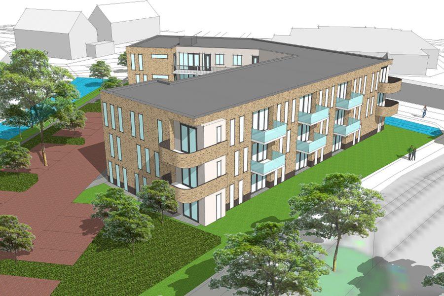 nieuwbouw appartementencomplex Koster, Ijsselmuiden