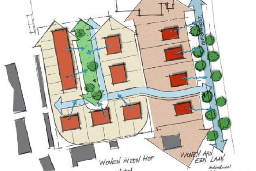 plattegrond Werkhorst Meppel
