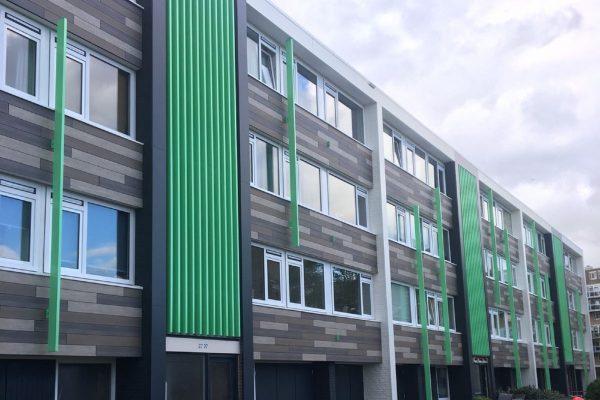 opknapbeurt appartementen Delta wonen, Kampen