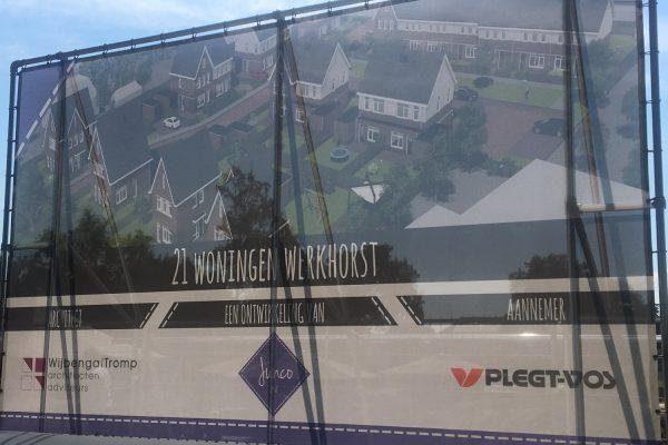 Bouwbord Werkhorst Meppel